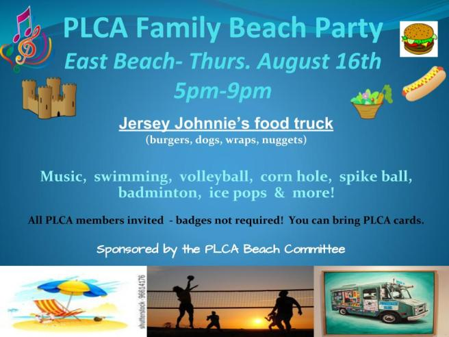 PLCA Family Beach Party and kayak.pptx (1) (2)