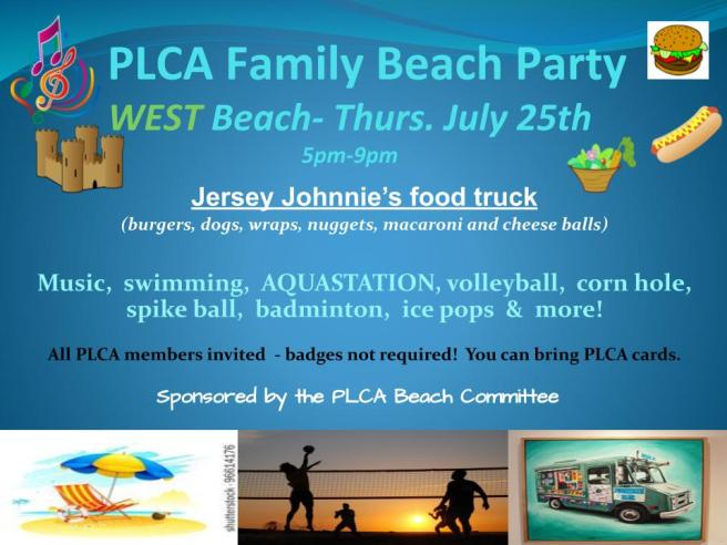 PLCA Family Beach Party and kayak.pptx