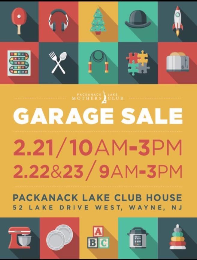 GARAGE SALE AD